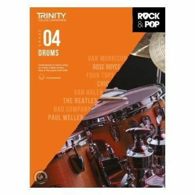 Trinity Rock and Pop 2018 -20 Drums Grade 4 (Book Only)