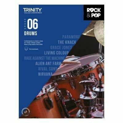 Trinity Rock and Pop 2018 -20 Drums Grade 6 (Book Only)