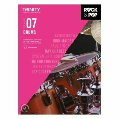 Trinity Rock and Pop 2018 -20 Drums Grade 7 (Book Only)