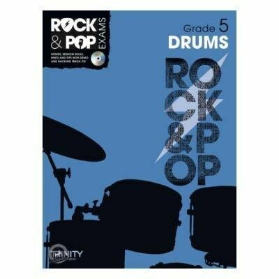 Trinity Rock & Pop Exams: Drums Grade 5 (Book & CD)
