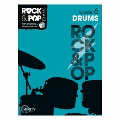 Trinity Rock & Pop Exams: Drums Grade 6 (Book & CD)