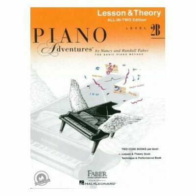 Piano Adventures All in Two Level 2B