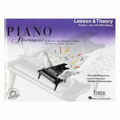 Piano Adventures All In Two Primer Level - Lesson & Theory