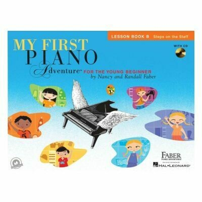 My First Piano Adventure - Lesson Book B (with CD)