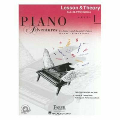 Piano Adventures All In Two Level 1 - Lesson & Theory