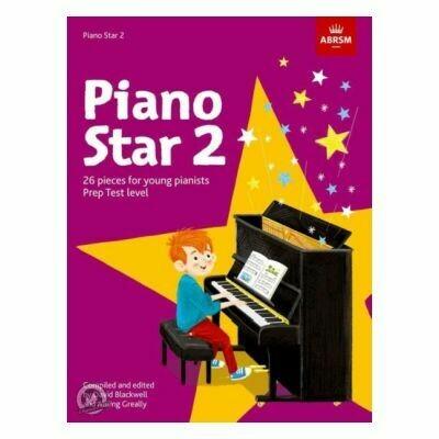 Piano Star Book 2: Prep Test Level
