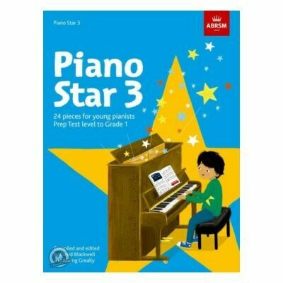 Piano Star Book 3: Prep Test Level to Grade 1
