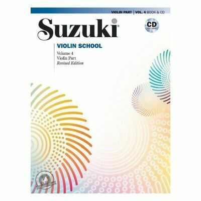 Suzuki Violin School 4 + CD (Revised) (with CD)