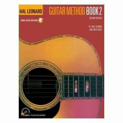 Hal Leonard Guitar Method Book 2 Second Edition (with Online Audio)