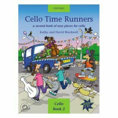 Cello Time Runners, Book 2