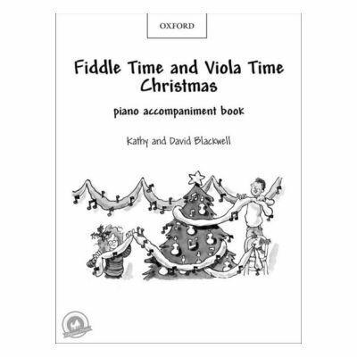 Fiddle Time & Viola Time Christmas Piano Accompaniment