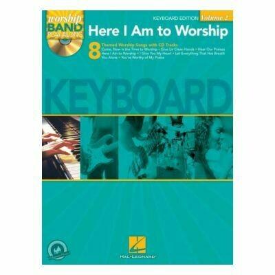 Here I Am To Worship - Keyboard Edition (Worship Band Playalong
