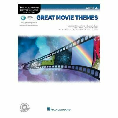 Great Movie Themes - Viola (with Audio-Online)