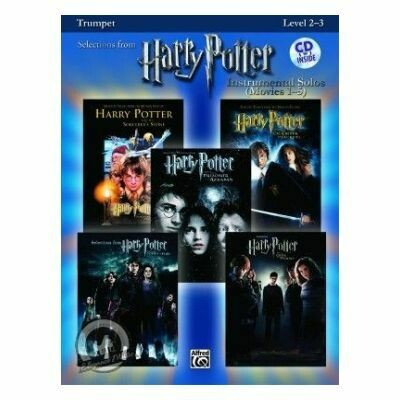 Harry Potter Instrumental Solos Movies 1-5 for Tenor Saxophone