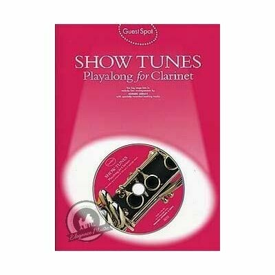 Showtunes Playalong for Clarinet (with CD)