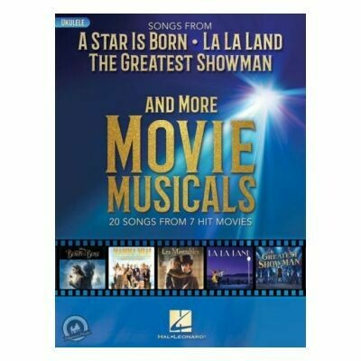 Songs from A Star Is Born and More Movie Musicals for Ukulele