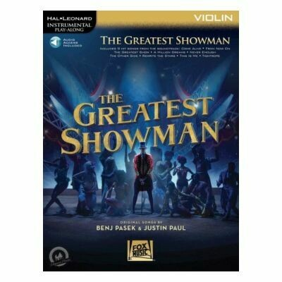 The Greatest Showman for Violin (with Audio-Online)