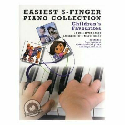 Easiest 5-Finger Piano Collection: Children's Favourites