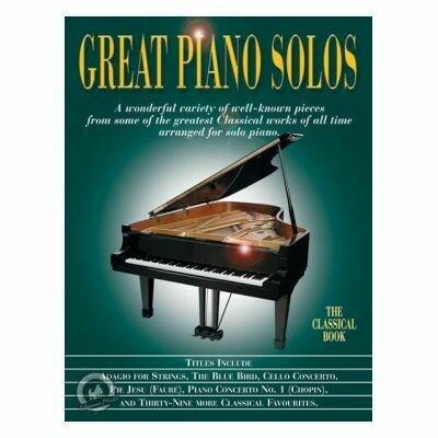 Great Piano Solos