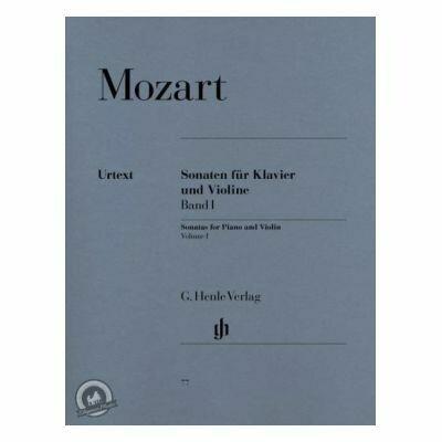 Mozart, W A: Sonatas for Piano and Violin Vol. 1