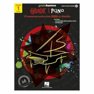Piano Gradebusters: Grade 1 (Book/Online Audio)