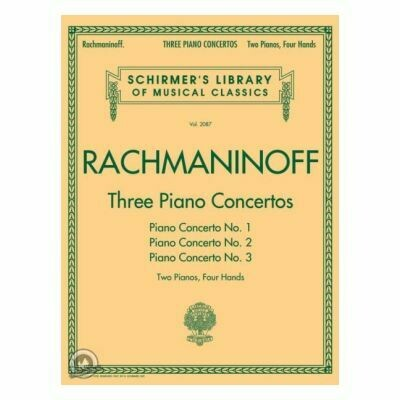Sergei Rachmaninoff: Three Piano Concertos: Nos. 1, 2, and 3 (2 Pianos, 4 Hands)