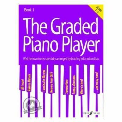 The Graded Piano Player: Grades 1-2