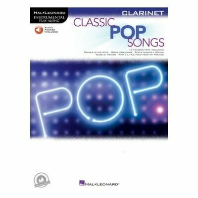 Classic Pop Songs - Clarinet (with Online Audio)