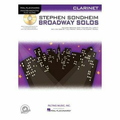 Stephen Sondheim Broadway Solos - Clarinet (with CD)