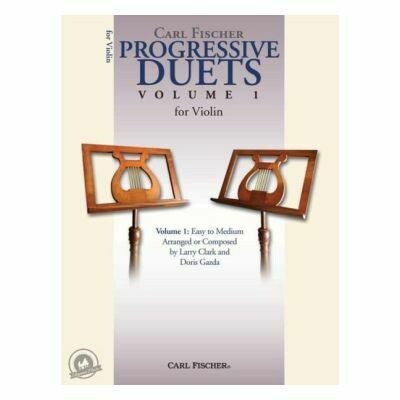 Carl Fischer Progressive Duets Volume 1 for Violin