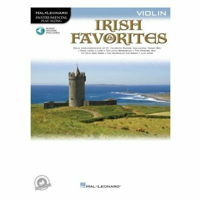 Irish Favorites - Violin (with CD)