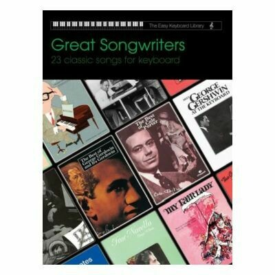 Easy Keyboard Library - Great Songwriters