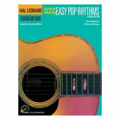 Even More Easy Pop Rhythms - 2nd Edition for Guitar