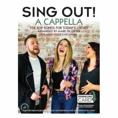 Sing Out! A Cappella SATB (with Online Audio)