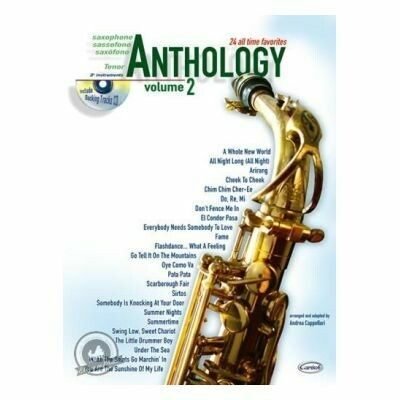 Anthology Tenor Saxophone Vol. 2 (with CD)