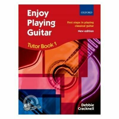 Cracknell: Enjoy Playing Guitar Tutor Book 1 + CD