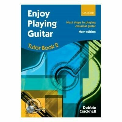 Cracknell: Enjoy Playing Guitar Tutor Book 2 + CD