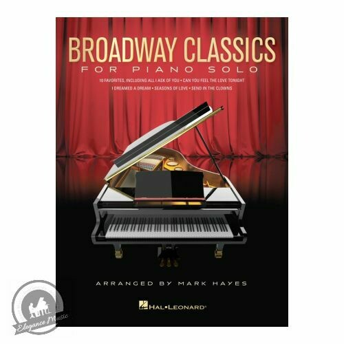 Broadway Classics for Piano Solo (10 Favourites, arranged by Mark Hayes)