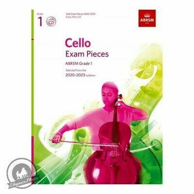 ABRSM Cello Exam Pieces 2020-2023 Grade 1 (Book with CD)