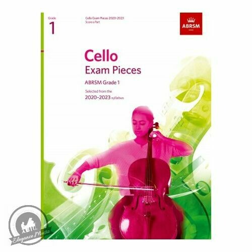 ABRSM Cello Exam Pieces 2020-2023 Grade 1 (Book with Part)