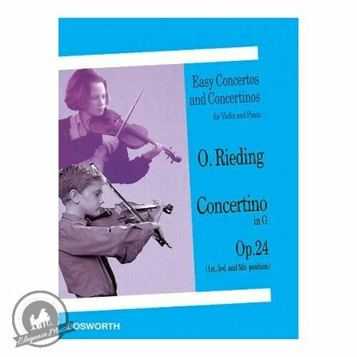 Oscar Rieding: Concertino in G Op. 24