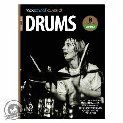 Rockschool Classics Drums Grade 2 (2018+)