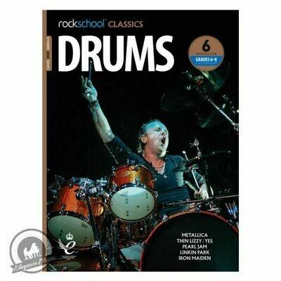 Rockschool Classics Drums Grade 6-8 Compendium (2018+)