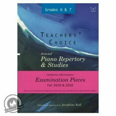 Teachers' Choice Exam Pieces 2019-20 Grades 6-7