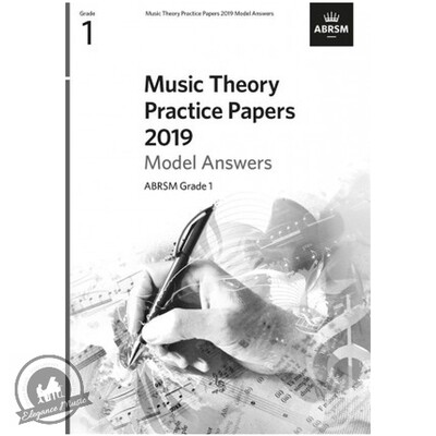 ABRSM Music Theory Practice Papers 2019 Model Answers: Grade 1