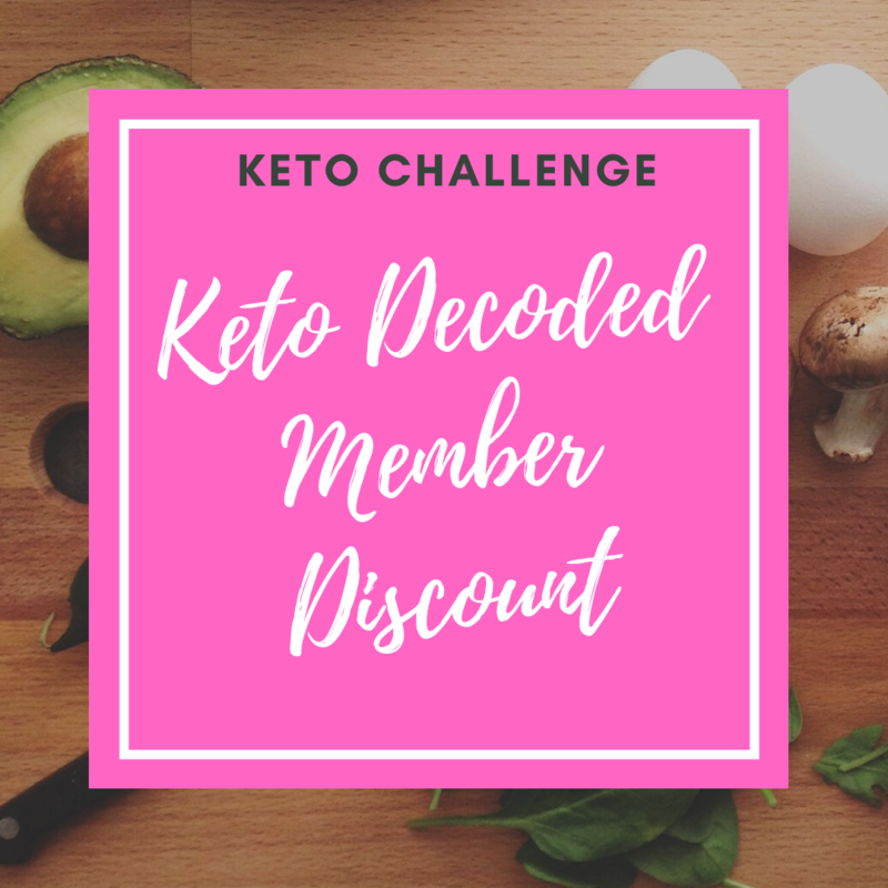 FOR KETO DECODED MEMBERS ONLY