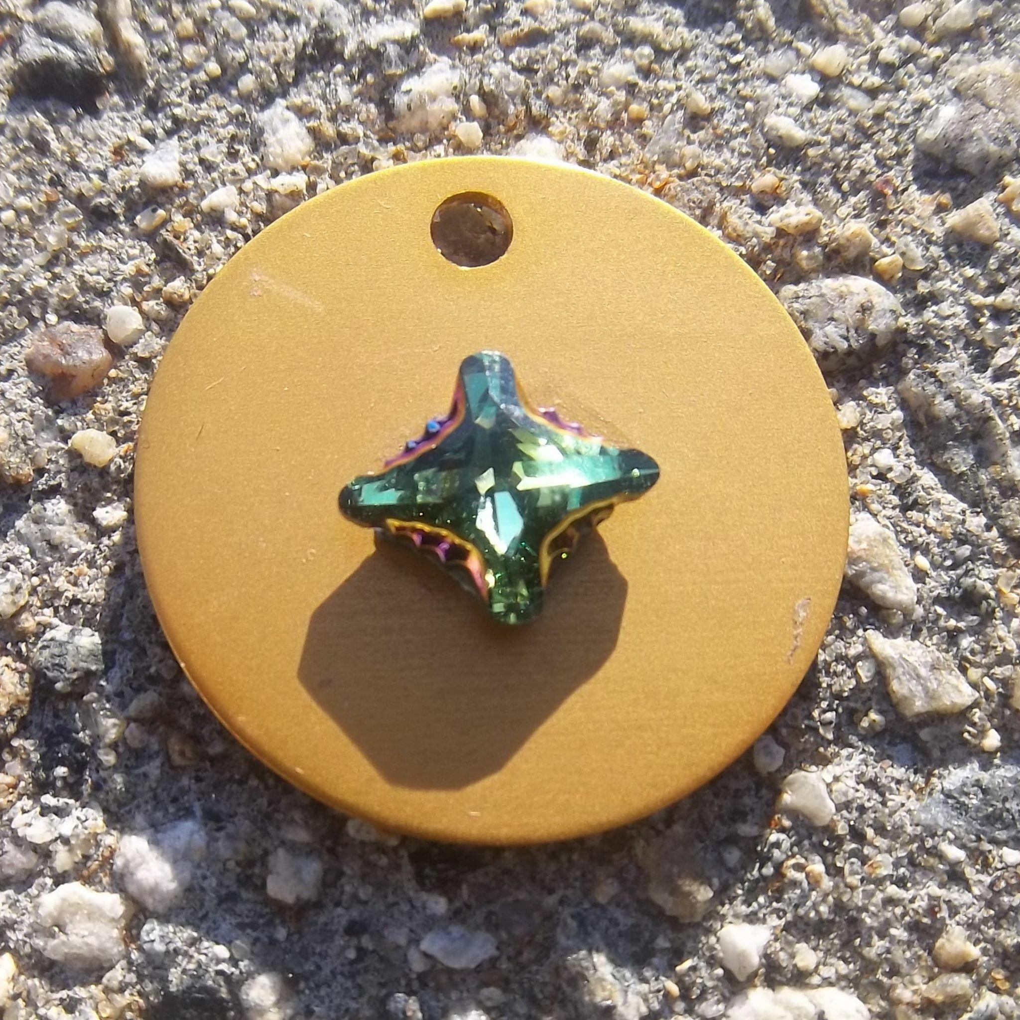 Scarabaeus Green Crystal 00000