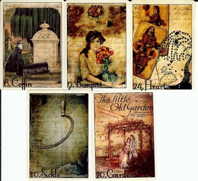 READINGS: 5 Card Lenormand