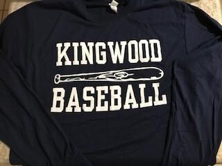 Kingwood Baseball Bat Long Sleeve Shirt