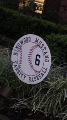 2020 KHS Baseball Yard Signs